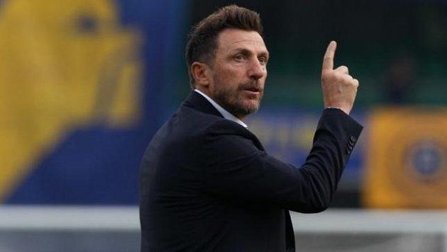 Eusebio Di Francesco povede fotbalisty Caligari