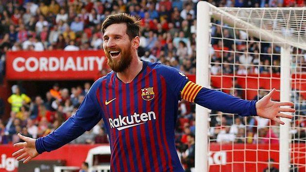 Barcelonský Lionel Messi má nejvyšší plat ze všech fotbalistů v Evropě.