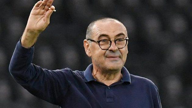 Trenér Juventusu Maurizio Sarri
