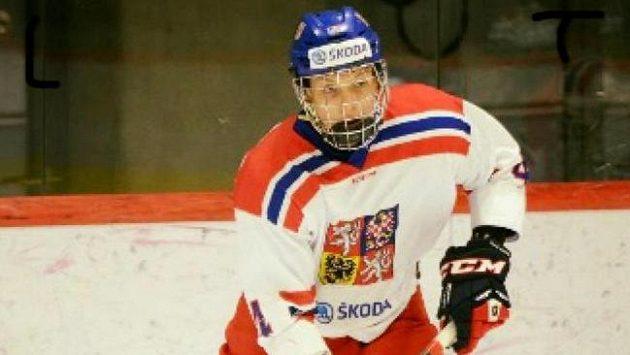 Český hokejový obránce Martin Haš