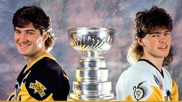 Hvězdy Pittsburghu. Lemieux a Jágr