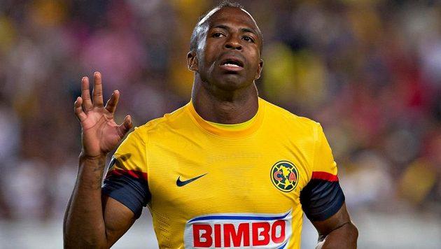 Útočník Christian Benítez ještě v dresu mexického Clubu América.