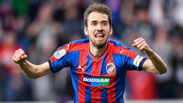 Plzeňský záložník Tomáš Hořava vstřelil oba plzeňské góly v utkání s Karvinou.