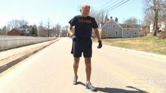 Stephen Reed z Wiscassetu začal v červnu 1976, stále běhá každý den.