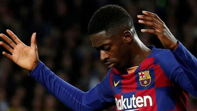 Návrat útočníka Ousmanea Dembélého po zranění do sestavy Barcelony se odkládá na neurčit