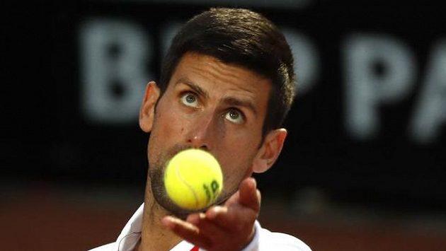 Djokovičův výbuch během zápasu Italian Open s titulky