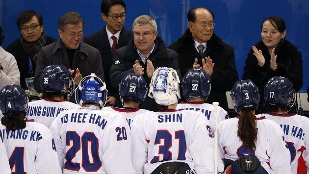 Tým složený z hráček obou korejských zemí má za sebou první zápas na olympijských hrách.