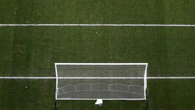 Fotbalová brána. Ilustrační foto.