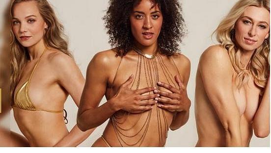 Německé sportovkyně Alexandra Ndolová, Lisa Ryzihová a Marie Pietruschkaová se před olympiádou svlékly pro Playboy.