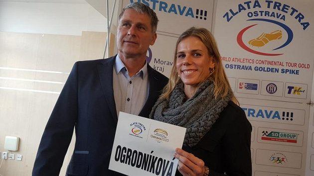 Jan Železný a Nikola Ogrodníková.
