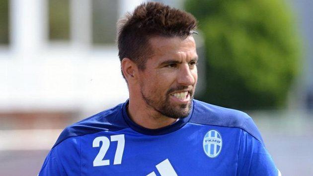 Milan Baroš si v neděli poprvé zatrénoval v Mladé Bolelavi.