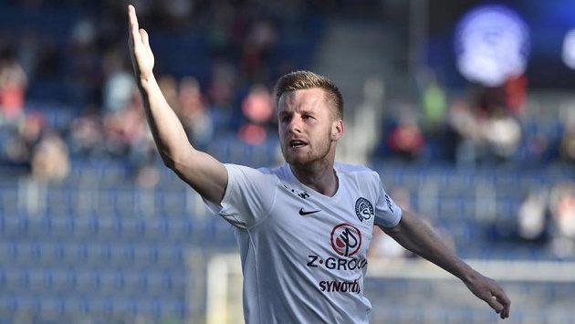Jan Juroška ze Slovácka dal vítězný gól a vyhrál sázku.