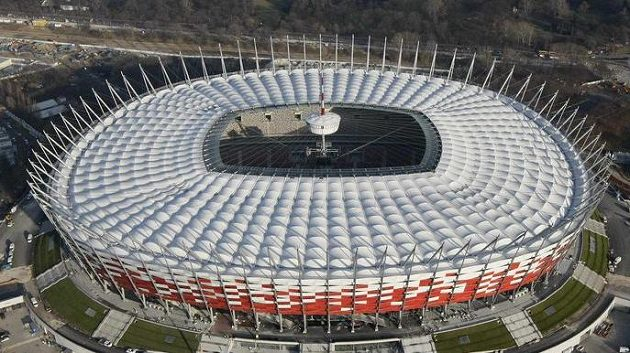 Stadión v polské Varšavě