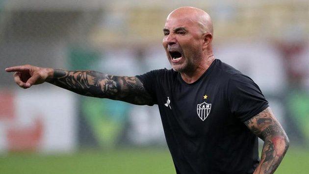 Jorge Sampaoli ještě coby kouč brazilského týmu Atlético Mineiro.