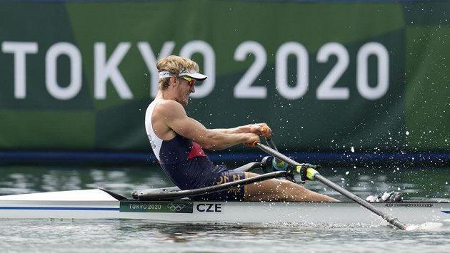Skifař Jan Fleissner si jede ve finále C na olympijských hrách v Tokiu pro čtvrté místo, celkově skončil šestnáctý.