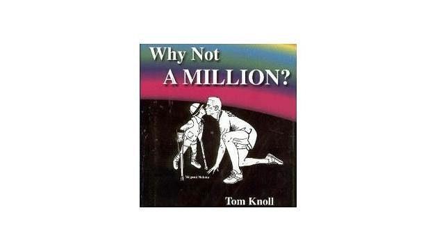 Tom Knoll a jeho kniha, jak došel k miliónu dolarů pro charitu běháním.