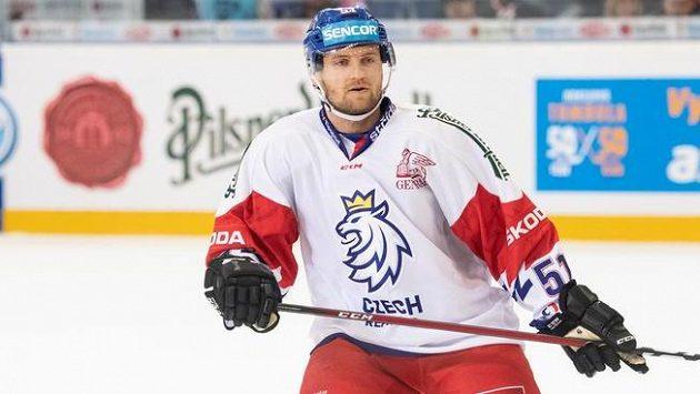Jakub Jeřábek během utkání proti Finsku, ilustrační foto.