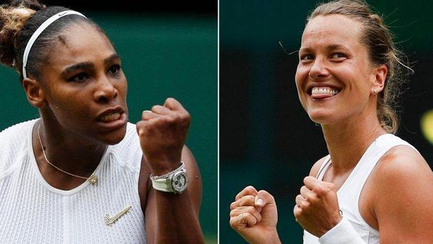 Barbora Strýcová bude o wimbledonské finále bojovat se Serenou Williamsovou