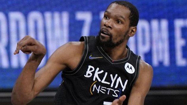 Basketbalista Kevin Durant předvedl jeden z nejlepších výkonů historie