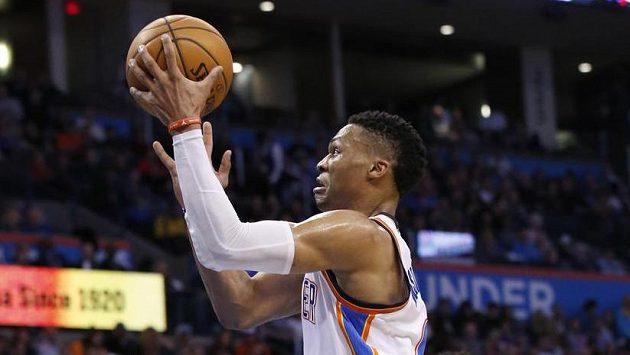 Russell Westbrook se blýskl v utkání proti Los Angeles Clippers životním výkonem.