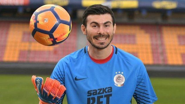 Rumunský brankář Florin Nita oblékl dres Sparty.