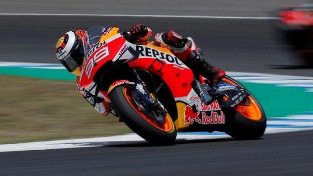 Španělský motocyklový závodník Jorge Lorenzo na archivním snímku.