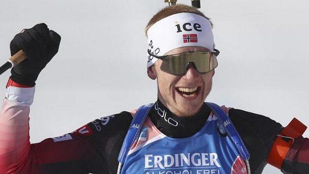Elitní norský biatlonista Johannes Thingnes Boe