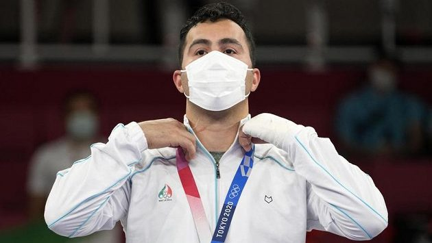 Íránský karatista Sadžád Ganžadáh