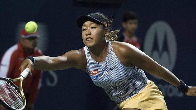 Japonská tenistka Naomi Ósakaová.