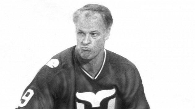 Gordie Howe na archivním snímku.