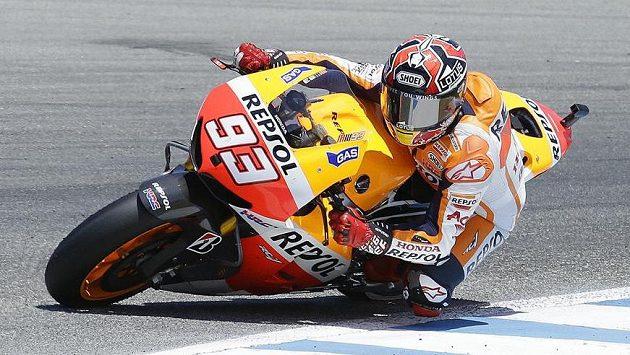 Španělský motocyklový jezdec Marc Márquez vyhrál Velkou cenu USA.