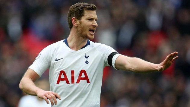 Jan Vertonghen v Tottenhamu po osmi letech končí