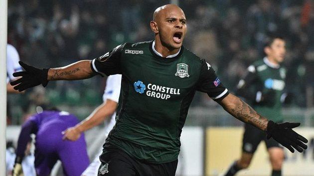 Brazilec Ari je jednou z hvězd Krasnodaru.
