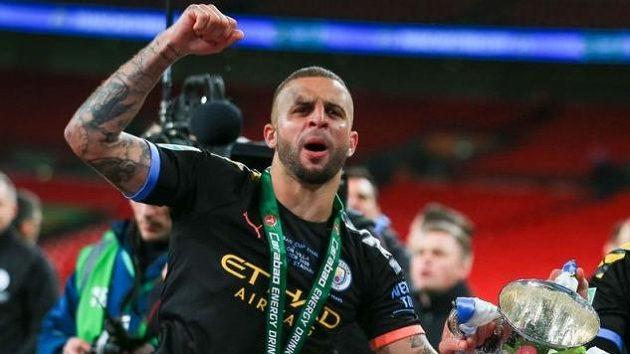 Obránce Manchesteru City Kyle Walker.