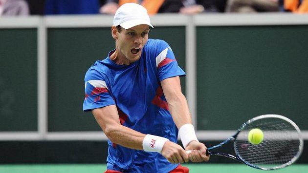 Tomáš Berdych společně s Lukášem Rosolem odehrál nejdelší zápas v historii Davis Cupu před dvěma lety.