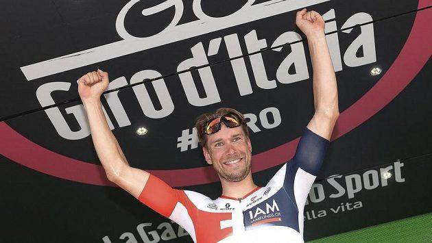 Němec Roger Kluge, vítěz 17. etapy Giro d'Italia.