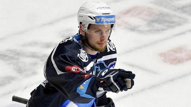 Plzeňský útočník Denis Kindl se raduje ze vstřeleného gólu.