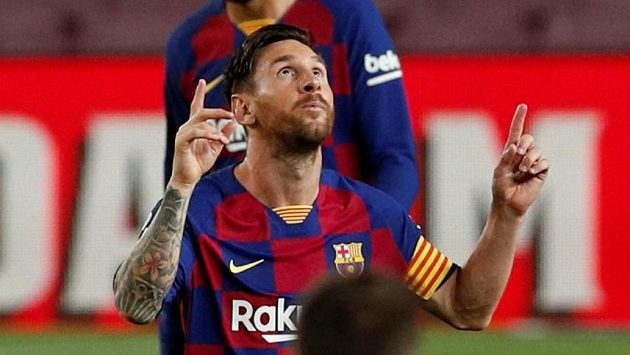 Barcelonský špílmachr Lionel Messi neslyšel od šéfa klubu zprávy, které by jej potěšily.