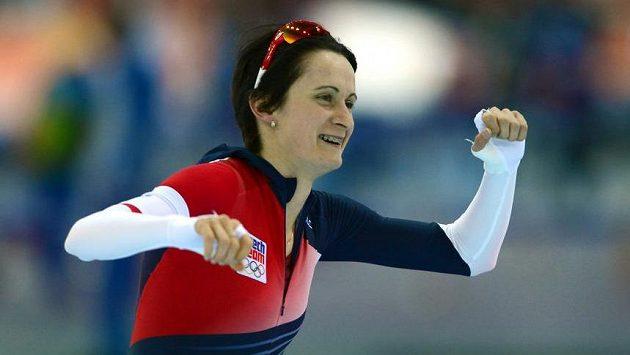 Martina Sáblíková se bude soustředit na trať 5 kilometrů.