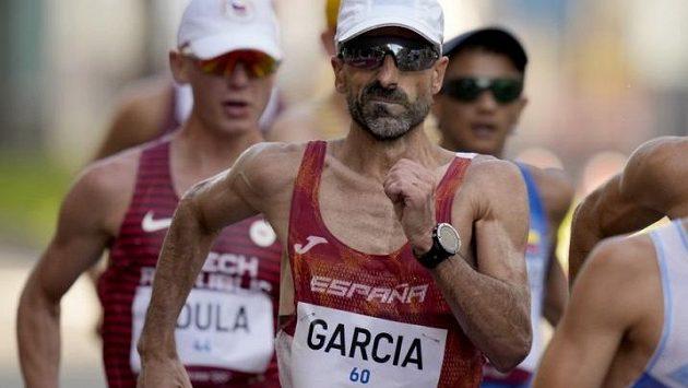 Legendární španělský chodec Jesús Ángel García