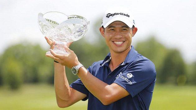 Američan Collin Morikawa vyhrál v Dublinu.