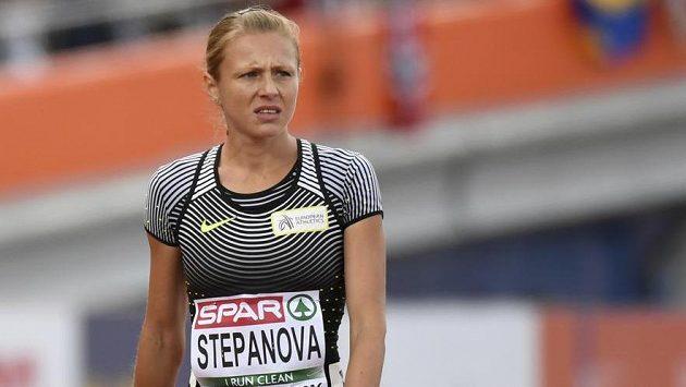 Ruská atletka Julia Stěpanovová.