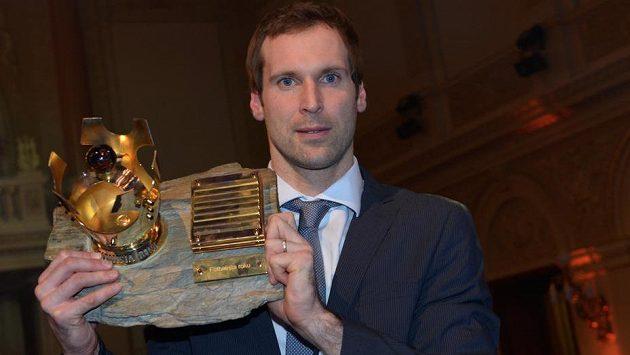 Brankář Petr Čech vyhrál anketu Fotbalista roku poosmé.