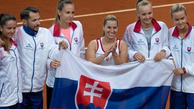 Dominika Cibulková byla hlavní hvězdou zápasu s Brazílií.