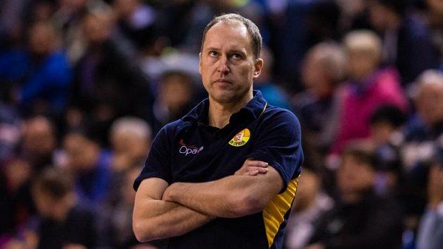 Trenér basketbalistů Opavy Petr Czudek.