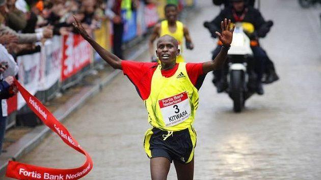 Keňský vytrvalec Sammy Kitwara. Ilustrační foto