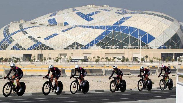 Cyklistické MS v Dauhá, ilustrační foto.