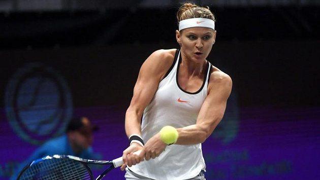 Lucie Šafářová postoupila na turnaji v Budapešti už do semifinále.