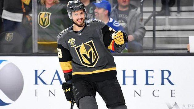 Tomáš Hyka v dresu Vegas.