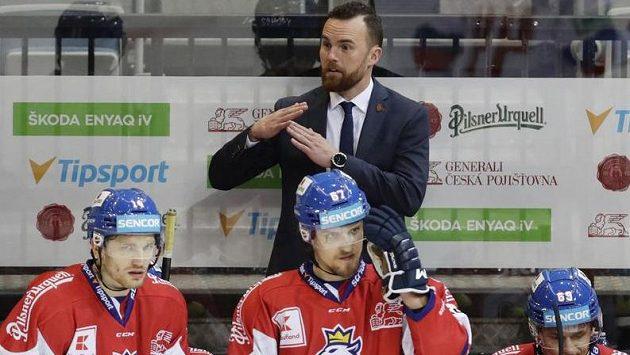 Trenér českého národního týmu Filip Pešán